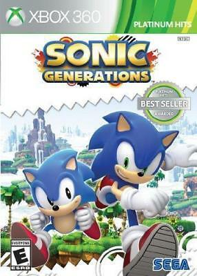 Sonic Generations Xbox 360 Brand New *DISPATCHED FROM BRISBANE*