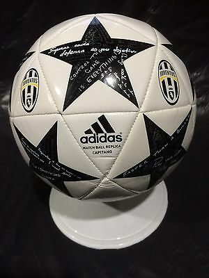 Juventus FC Football Adidas Serie A Soccer Ball Juve Size 4 Champions League NEW