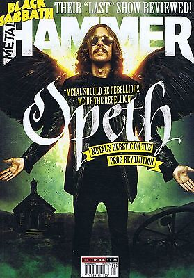 OPETH / BLACK SABBATH / KING 810 Metal Hammer no. 260 Summer 2014