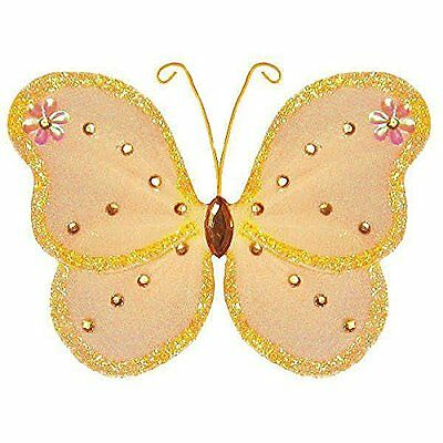 The Butterfly Grove Adelaide Butterfly Decoration 3D Hanging Mesh Nylon Decor, x