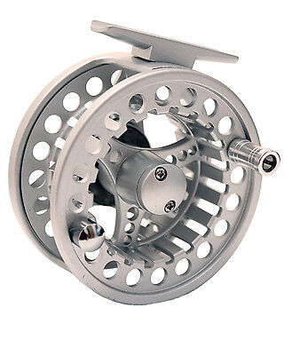 Fly Fishing Aluminium Alloy 3/4 Trout Fly Reel, Salmon, Sea Trout