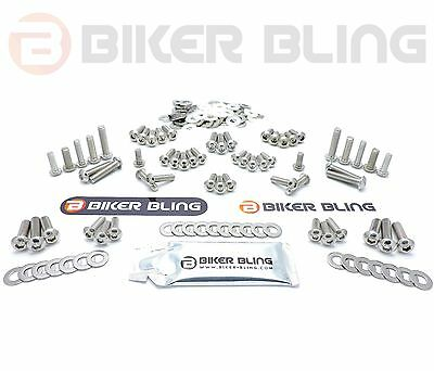 BMW K1200R Sport K43 2007-2009 stainless steel motorcycle fairing bolts