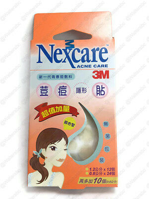 3M Nexcare Acne Care Pimple Stickers Patch 46 Pcs Small Combo Box New Exp2022