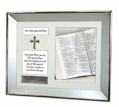 Stephan Baby Customizable Special Occasion Keepsake Silver Plated Shadow Box