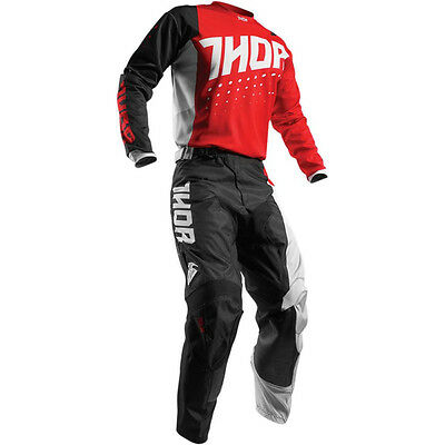 Thor Impulsi Aktiv MX Enduro Pantaloni Di Combinata+Shirt Fox Motocross Honda