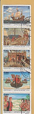 Latin America Block Of 5 Stamps Mint Not Hinged Pre-Franked