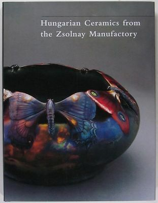 Antique Zsolnay Porcelain Pottery - Colorful book of Old Hungarian Ceramics