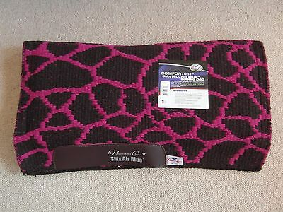 Professional's Choice Comfort-Fit SMX Air Ride Western Pad - Giraffe Pattern