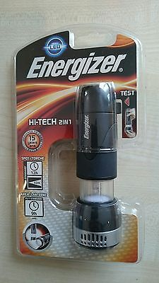 Energizer LED Torch Hi-Tech 2in1 Spot/Flood Camping