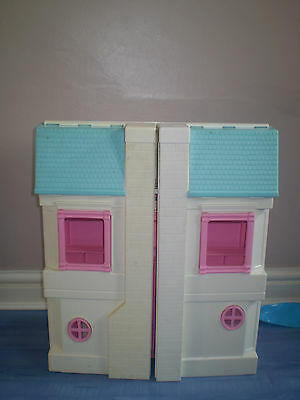 Vintage Fisher Price 6364 Loving Family Dream Dollhouse Large Folding Doll House