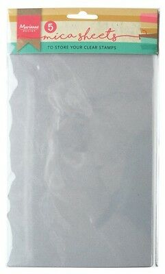 Marianne Design Clear Stamp Storage Sheets - Pack of 5 - LR0008 - NEW