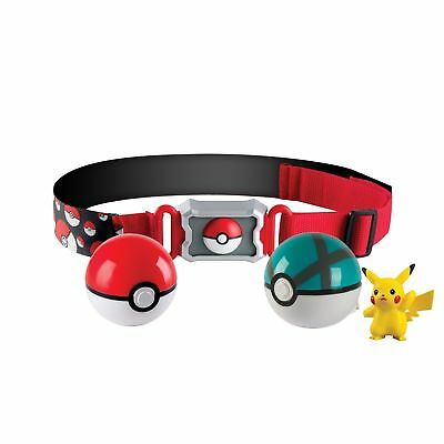 Pokemon T18889D Clip 'n' Carry Poke Ball Belt Free delivery!
