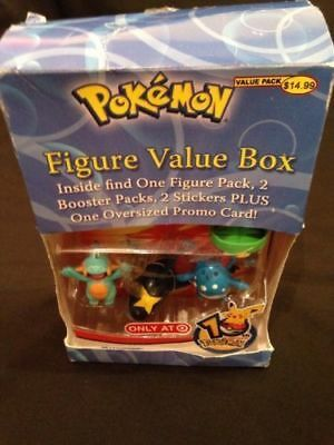 Pokemon 10th Anniversary Figure pack Lotad Marshtomp + TC's + Oversized (G24