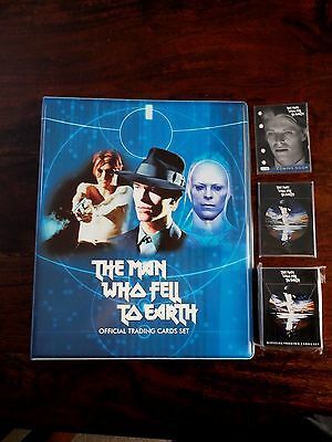 David Bowie Man Who Fell To Earth Exc Binder Full Base Set Preview Set & Promo