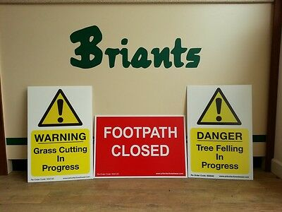Corex Safety Signs 60 x 40cm (Various)