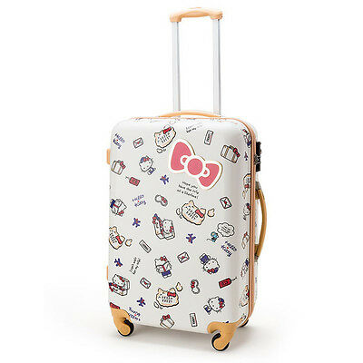 Hello Kitty Carrying Case Suitcase Travel ❤ Sanrio Japan