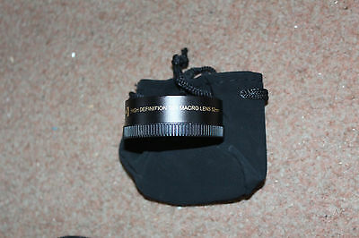 High Definition 10x Macro Lens 52mm Lens Adapter Photography