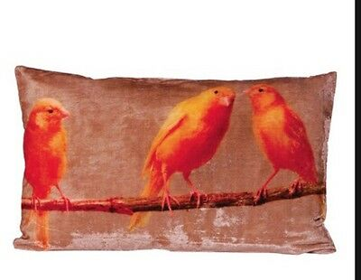Canaries Cushion Cover