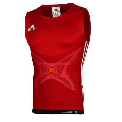 New Adidas adipower Mens Boxing Tank Vest Powerweb LIGHTWEIGHT SLEEVELESS