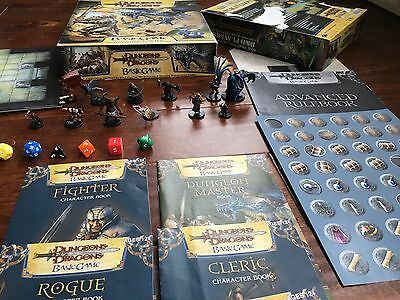 Dungeons and & Dragons Basic Board Game 2006 Blue Dragon 12 Painted Miniatures