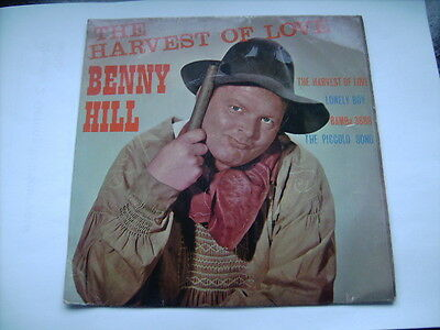 Benny Hill    Harvest Of Love    7 inch EP Record
