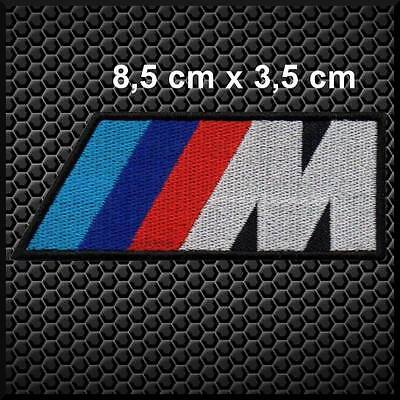 AUFNAHER AUFNÄHER PATCH BMW SERIE M for t-shirt jeans Iron-on