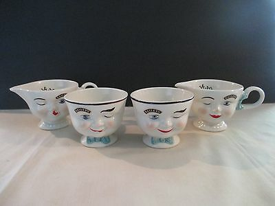 Lot Of Two Limited Edition Baileys Creamer & Sugar Bowl
