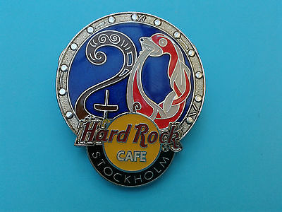 Hard Rock Cafe 20th Anniversary Pin Stockholm