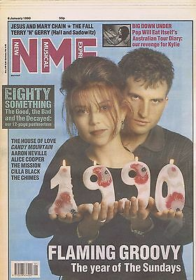 SUNDAYS / POP WILL EAT ITSELF / THE FALL / JESUS & MARY CHAIN NME 6 Jan 1990