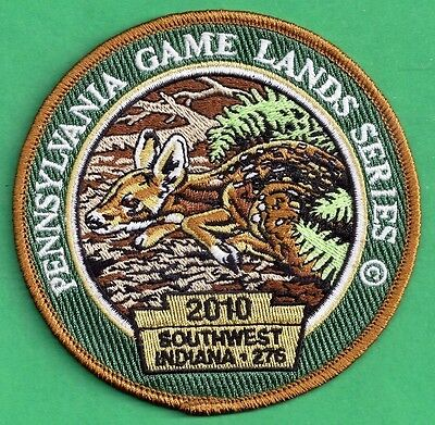 Pa Game Fish Commission NEW 2010 Wilderness Edition Game Lands Fawn Deer Patch