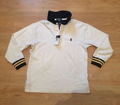 Ralph Lauren Boys Kids Polo Rugby Top BNWT