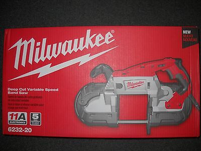 Milwaukee 6232-20 Deep Cut Variable Speed Band Saw Brand NEW Bandsaw