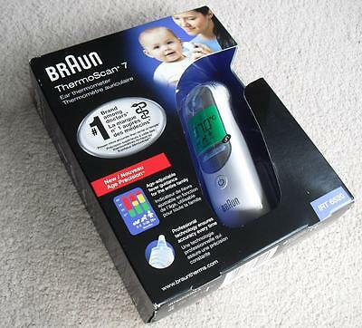 BRAUN Thermoscan 7 Children's Digital Ear Thermometer IRT 6520 IRT6520
