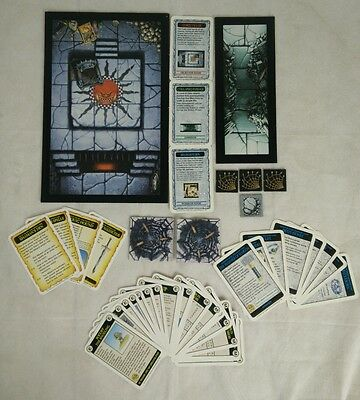 Warhammer Quest - Lair Of The Orc Lord - Cards, Scenery tiles and Dungeon Tiles