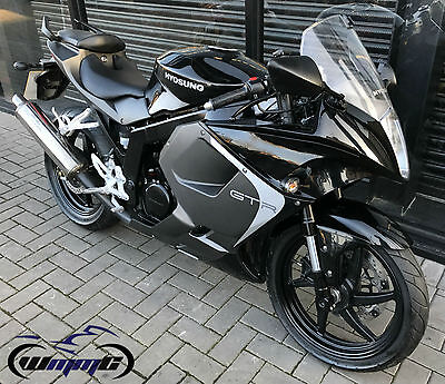 2016 Hyosung Gt 125 Rc * 2,900 Miles - Warranty & 12 Months Mot Included *