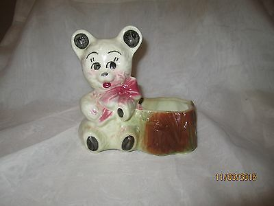 Vintage Shawnee Bear Planter