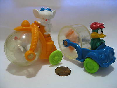Pinky and The Brain 1993 McDonalds & Baby Looney Toons Porky Pig & Daffy Duck