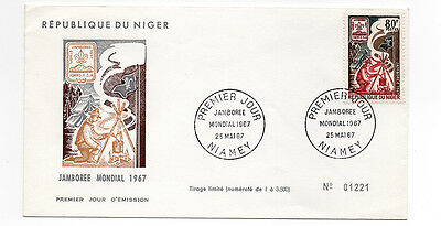 Niger First Day Cover FDC (1967)