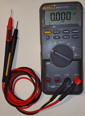 Fluke 83v Digital multimeter with Fluke TL175 test leads