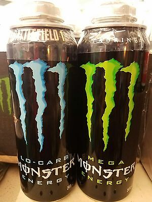 Monster Energy Drink Full 24oz Battlefield  Cans Rare Discontinued Cans