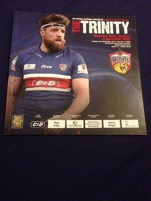 The Trinity Wakefield Wildcats Versus Castleford Tigers 2013 Official Programme