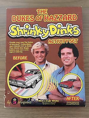 Vintage Dukes Of Hazzard Shrinky Dinks Activity Set NIB