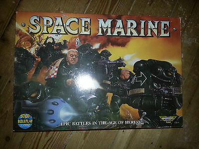 EPIC 40K  ** 1989 1st EDITION SPACE MARINE BOXED GAME ** Specialist Games #2