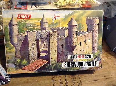Airfix Sherwood Castle Mint And Sherif Of Nottingham And Some Robin Hood