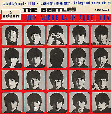 "The Beatles-A Hard Day's Night Spanish 7"" EP"
