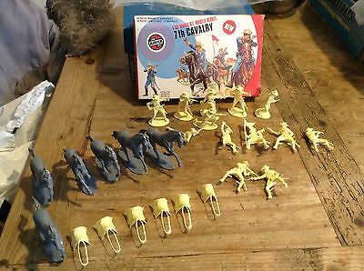 Airfix 7th Cavalry Mint Boxed Very Rare Mint