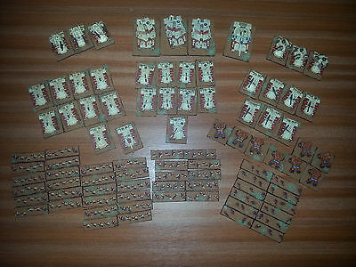 Epic 40,000 Armageddon ** Large Imperial Guard Proxy Army * * Free P&p ** #2