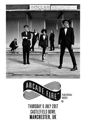 ARCADE FIRE Castlefield Bowl - 6th July 2017 PHOTO Print POSTER Manchester UK 07