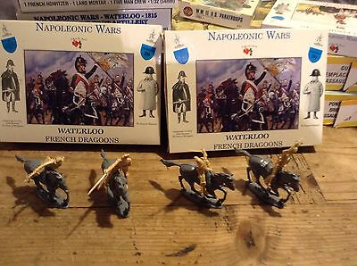 Airfix Ar is In Plastic Cavalry Two Mint Boxed Sets Waterloo 1/32scale