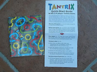 Tantrix instructions rules booklet